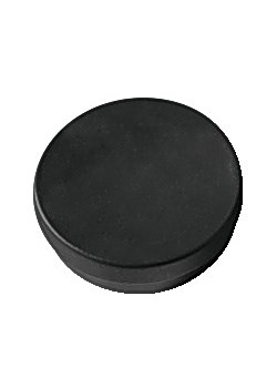 Magnetknappar 30 mm Svart 5 st