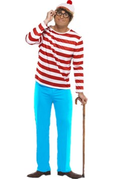 Where's Wally? Naamiaisasu