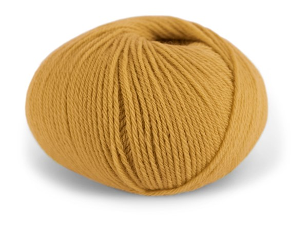 Dale Garn Pure Eco Baby Wool Økologisk Ull 50 g Maisgul 1317