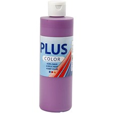 Plus Color-askartelumaali, 250 ml, tumma lila