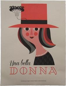 Una Bella Donna Print A3