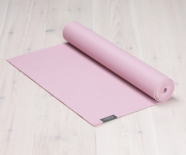 Yogamatta Yogiraj, 4mm, Heather Pink
