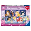 Puslespill, Disney Princess, 2 x 24 brikker, Ravensburger