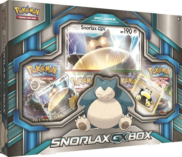 Pokémon Box Snorlax GX