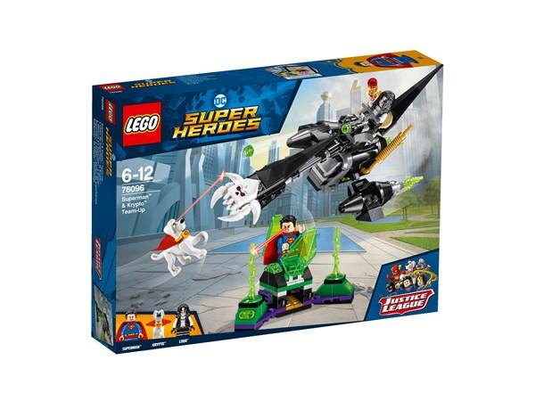 Superman™ & Krypto™ samarbete, LEGO Super Heroes (76096)