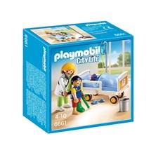 Sairaalahuone ja lääkäri, Playmobil (6661)
