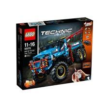 Terränggående 6x6-bärgningsbil, LEGO Technic (42070)