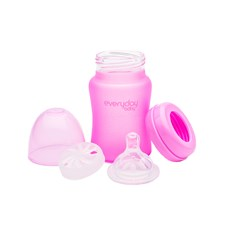 Nappflaska MilkHero 150ml, Rosa, Everyday Baby
