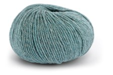 Knit At Home Classic SW Wool Ullgarn 50 g Dusgrønn Melert 432