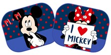 Solskydd 2-pack, Mickey & Minnie Mouse