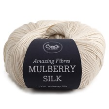 Adlibris, Mulberry Silk, 50 g, White A448
