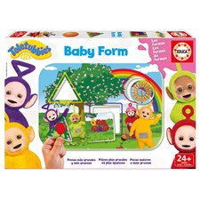 Teletubbies Baby Shapes, Formpussel