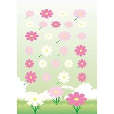 Huopatarra Kukka Roosa/ Pinkki, 10 x 19 cm