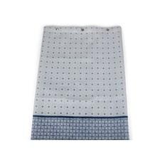 Form Living Duschdraperi Casablanca Polyester 180x200cm Blå
