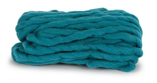 Knit At Home Chunky Wool Ullgarn 200 g Petrol 946