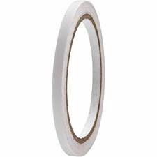 Kaksipuolinen teippi, lev. 6 mm, 10m