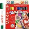 Playcolor Make up, ass. farger, basic, 6x5g