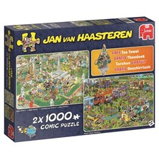 Jan van Haasteren, Food truck festival & BBQ Party, Pussel 2x1000 bitar