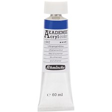 Akrylfärg Schmincke AKADEMIE® 60 ml ultramarine blue (442)