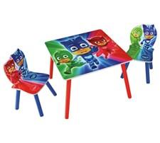 Möbelset, Bord & 2 stolar, Pyjamashjältarna