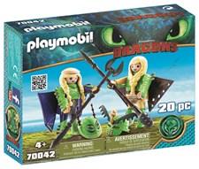 Flåbusa och Flåbuse med flygdräkt, Playmobil (70042)