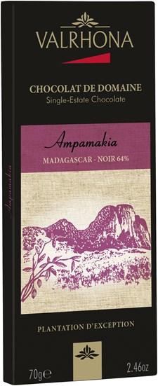 Valrhona Chokladkaka Ampamakia 64% 70 g