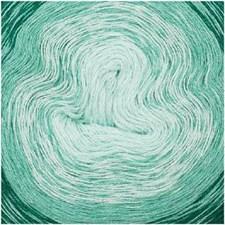 Rico Creative Cotton Dégradé Garn Bomullsmix 200g Green 007