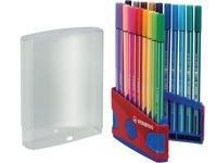 Ritpenna Fineliner Stabilo Pen 68 Multi 20-pack