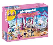 Adventtikalenteri, Joulutanssiaiset kristallisalongissa, Playmobil (9485)