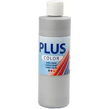Plus Color-askartelumaali, 250 ml, hopea