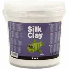 Silk Clay®, 650 g, vit