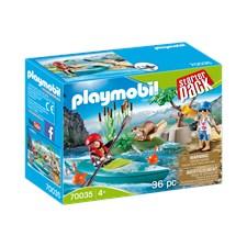 Startpaket Kanotträning, Playmobil (70035)
