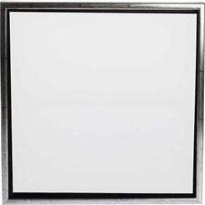 ArtistLine Canvas med ram, utv. mått 44x44 cm, djup 3 cm, Målarduk stl. 40x40 cm, 1st.