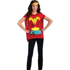 WONDER WOMAN T-SHIRT- DRÄKT (Medium)