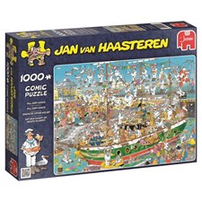 Jan van Haasteren, Tall Ship Chaos, Pussel 1000 bitar