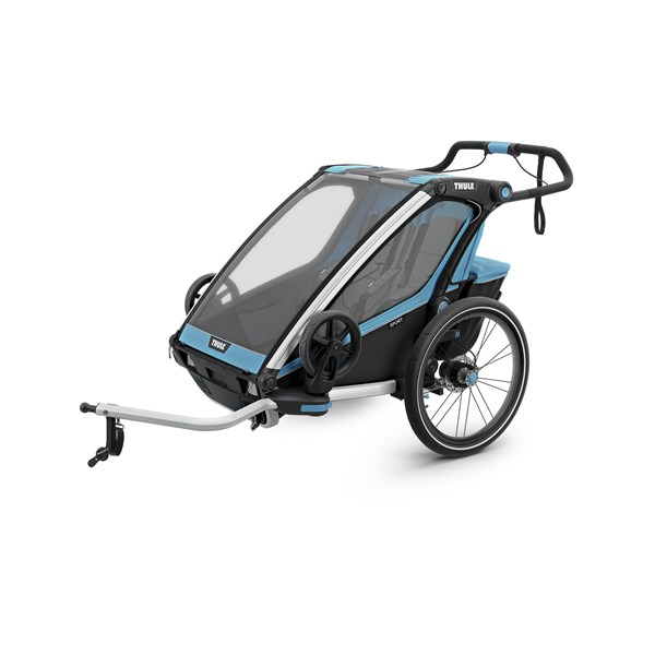 Thule Chariot Sport2 Cykelvagn, Blue/Black
