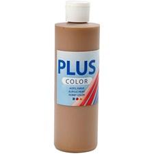 Plus Color-askartelumaali, 250 ml, vaaleanruskea