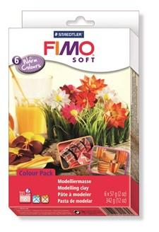 """FIMO® soft Colour-pack """"Warm Colours"""", 5 + 1"""