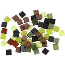 Mosaik Mini 5x5 mm Grön Harmoni 25 g