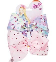 Jojo Siwa Bow Set - Unicorn/Light Pink