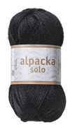 Alpacka Solo Ullgarn 50g Svart (29108)