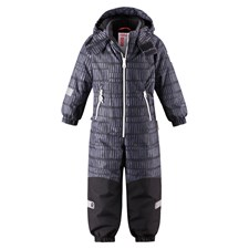 Reimatec® Kiddo Talvihaalari, Snowy Dark Grey 116 cm, Reima