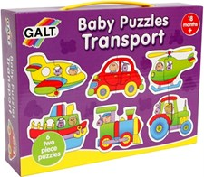 Babypussel, Transport, Galt