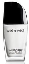Wet n' Wild Wild Shine Nail Color - French White Creme Kynsilakka