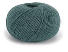 Dale Garn Pure Eco Wool Lanka Ekologinen Villa Alpakka 50 g harmaanvihreä 1233