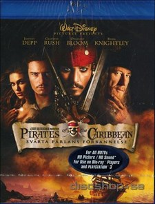 Pirates of the Caribbean 1: Svarta Pärlans Förbannelse (Blu-ray)
