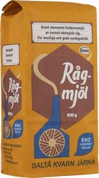 Saltå Kvarn Rågmjöl Fullkorn 500 g