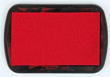 Mustetyyny, tekstiili, punainen, 9,5/6.6 cm
