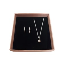 Smyckeset Raw Diamond Sterling Silver Giftbox