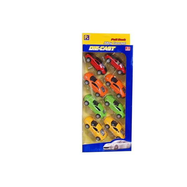 Bilar 8-pack  4 färger  Summertime - leksaksbilar & fordon